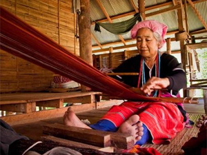 local weaving