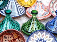 tagines in the market