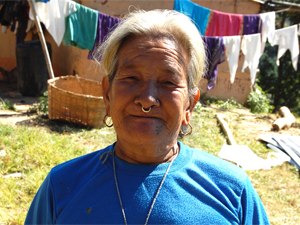 local woman in nepal