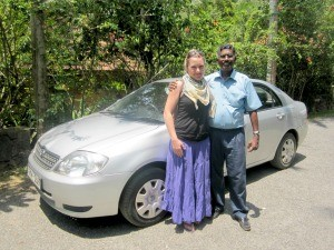 Travel specialist with private driver Arthur
