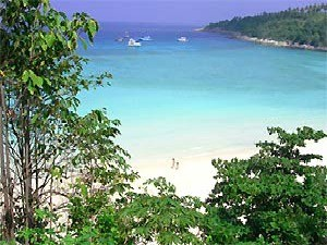ko raya beach view thailand