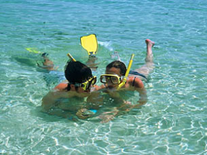 people snorkelling at ko tao thailand