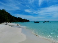 clear waters of ko rong saloem in cambodia