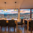 Dinning room with landscape view of Cusco