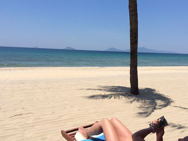 vietnam beach in hoi an