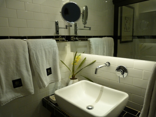 Boutique bathroom in Ipoh accommodation