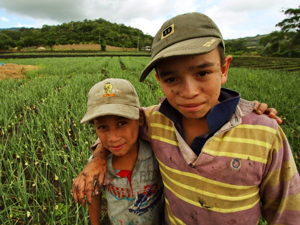Local kids in Matagalpa