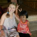 two girls in thailand