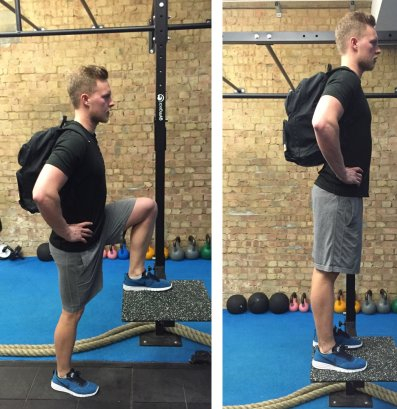 Exercise Step Ups