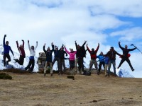 group trekking in nepal