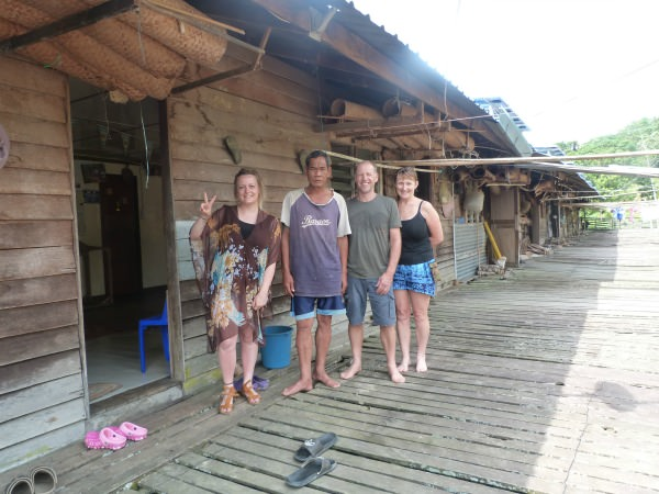 borneo specialist chloe at homestay