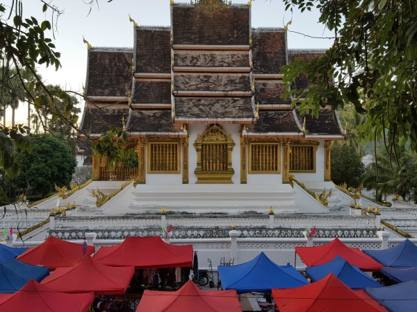 temple in luang prabang laos