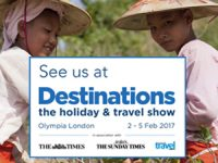 Come and see us at the Destinations Show 2017!