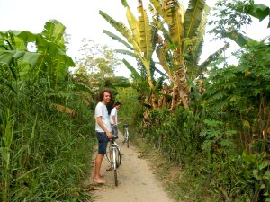 Countryside cycling tour
