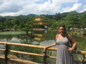 Japan product manager Sophia in Kyoto