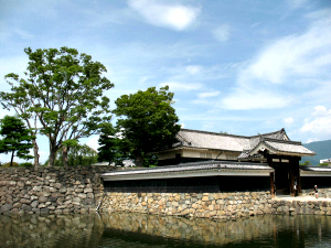Out building of Japanese castle