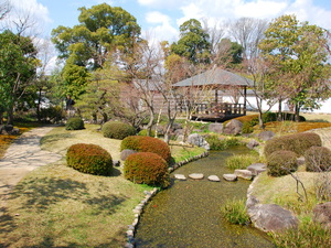 A beautiful and traditional Japanese garden