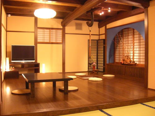 Traditional Japanese style restaurant