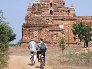 Bagan temple activity bike ride