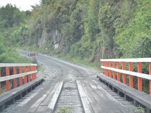 bridge street Carretera Austral Chile
