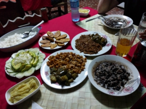 Some typical Cuban food