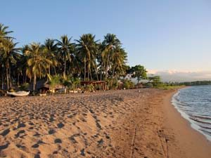 maumere beach in flores indonesia