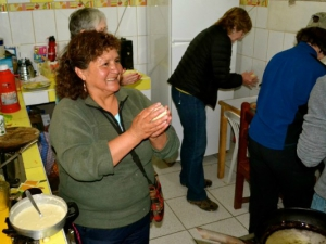 A cooking class in Ollantaytambo