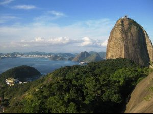 Sugar Loaf Mountain in Rio Brazil