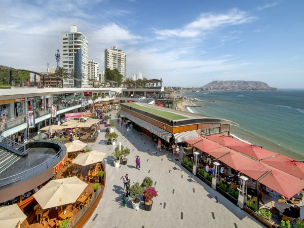 Larcomar Shopping Centre in Lima Peru