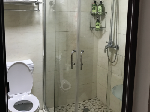 Bathroom in accomodation in Tongli China