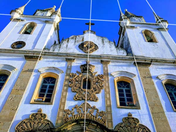 Photography Tips - Blue church in Penedo Brazil