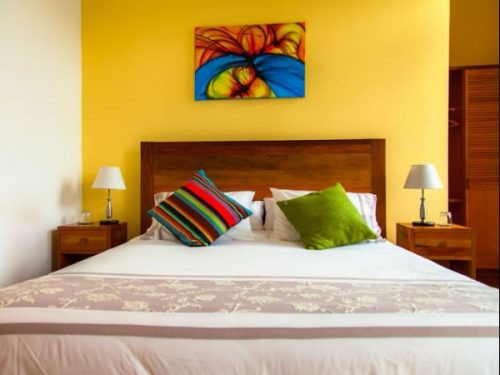 Bedroom accommodation in Valparaiso Chile