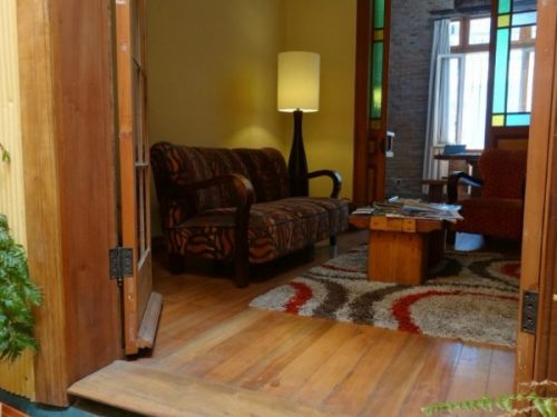 Living room accommodation in Valparaiso Chile