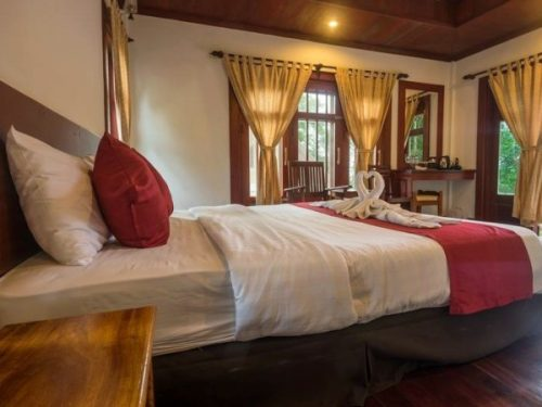 Bedroom accommodation in Laos