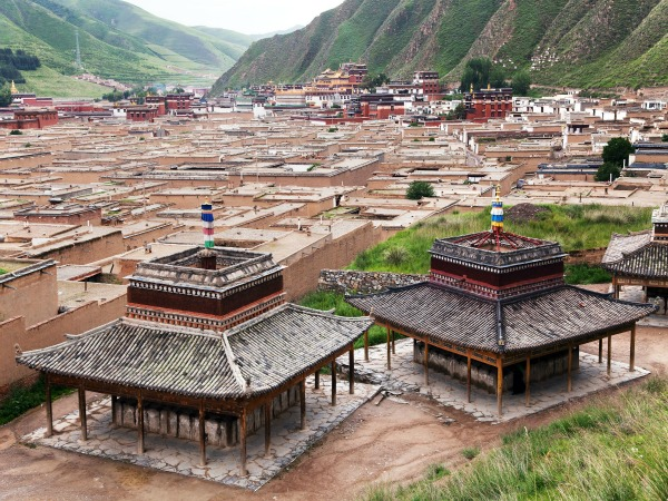 monasteries in xiahe china