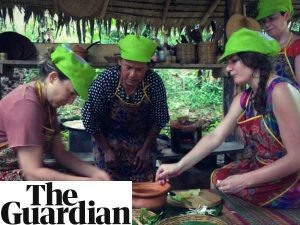 woman and locals cooking in thailand the guardian