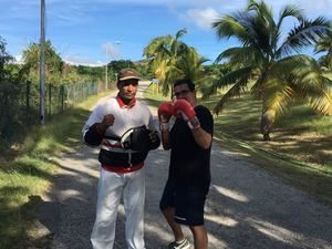 Learning to box in Cuba