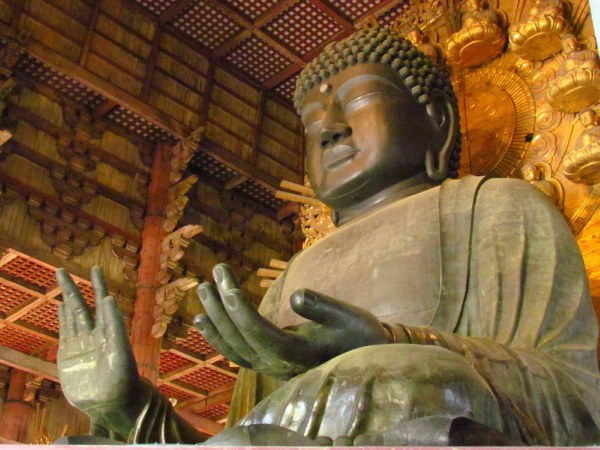 Buddha statue in Nara Japan