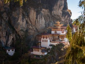 The Tigers Nest building, Bhutan