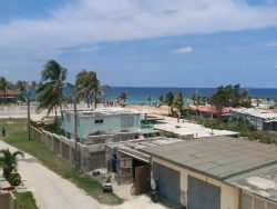 A view of the sea in Boca de Camarioca, Cuba