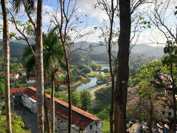 View from balcony in Las Terrazas