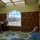 a basic lodge on the Bolivian altiplano