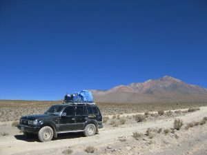 Jeep tour across the Atacama