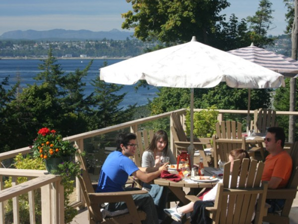 Restaurant in Quadra Island