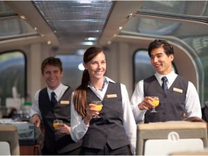 Goldleaf Service Staff on Rocky Mountaineer