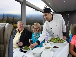 Silverleaf Service of the Rocky Mountaineer