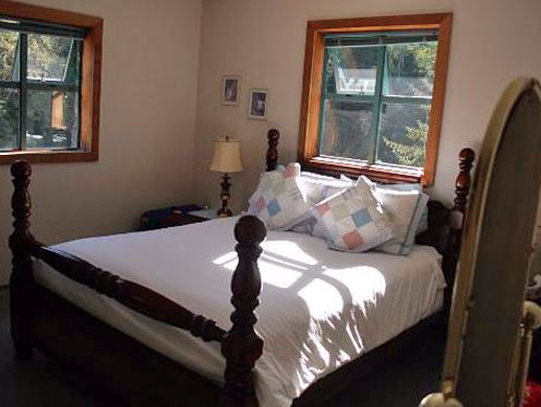 Bedroom of Telegraph Cove Accommodation