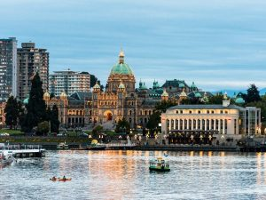 Parliments in Victoria, Canada