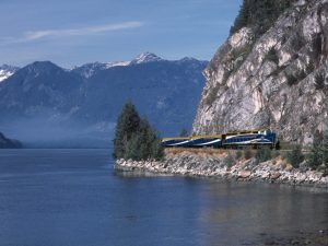 Rocky Mountaineer in Canada