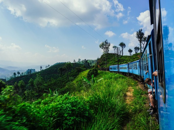 Sceneic Train Journey in Ella, Sri Lanka